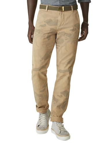 DOCKERSD1 Camo Print Slim Alpha Pants