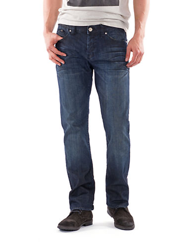 WILLIAM RAST Logan Straight Dark Wash Jeans