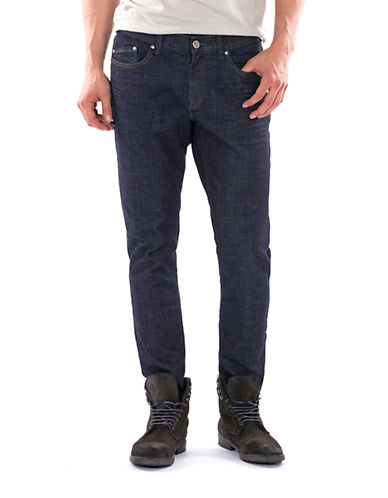 WILLIAM RAST Dylan Slim Crosshatch Jeans