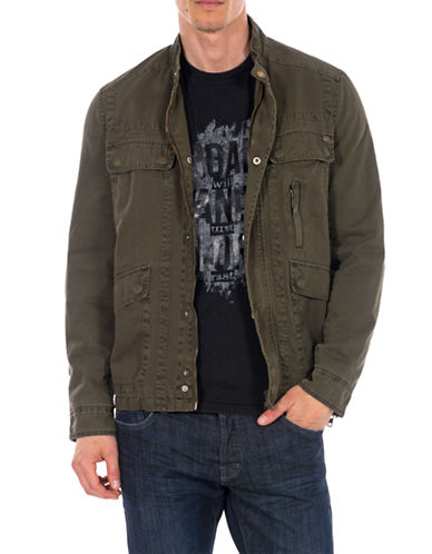 WILLIAM RAST Twill Army Jacket