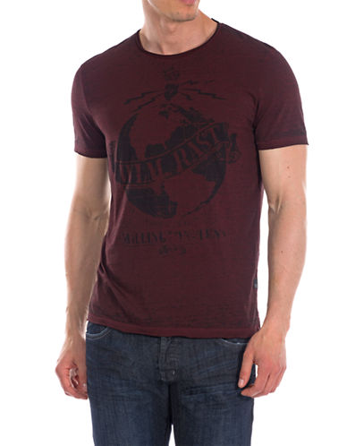 WILLIAM RAST Planet Graphic Tee
