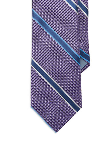 FORSYTH Striped Silk Tie