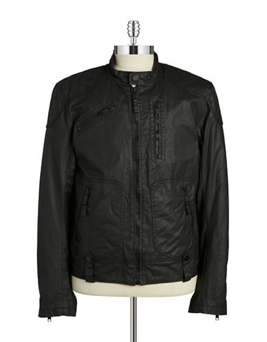 Rogue State Quilted Bomber Jacket