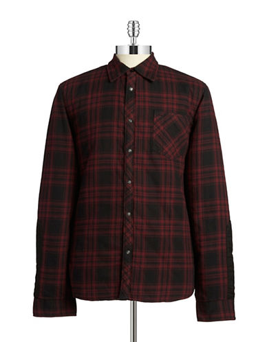 Rogue State Plaid Flannel Jacket