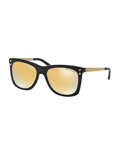 michael kors female 54mm lex square sunglasses