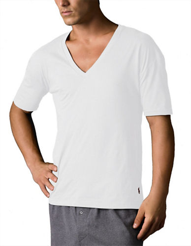 POLO RALPH LAUREN2-Pack Big and Tall V-Neck T-Shirt