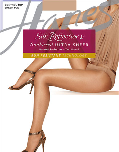 HANESSilk Reflections Sunkissed Ultra Sheer Tights
