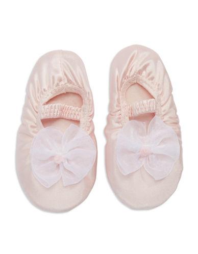 BABY DEERRibboned Ballet Slippers