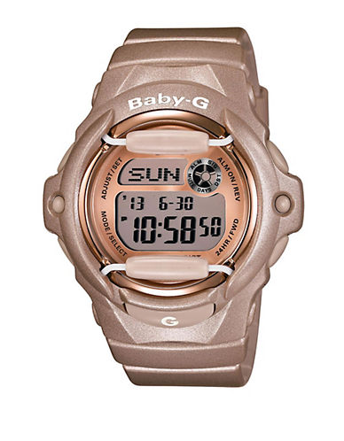 Ladies Pink Champagne Baby-G Watch