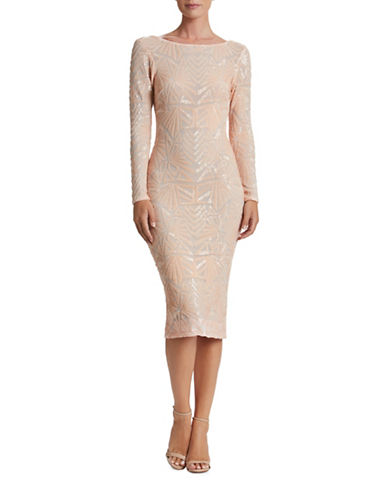 Rochie midi DRESS THE POPULATION Emery