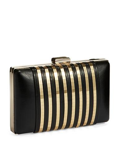 LA REGALEFaux Leather Clutch
