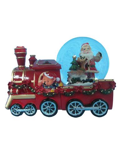 Kurt S.Adler Wind Up Musical Train with Santa Water Globe