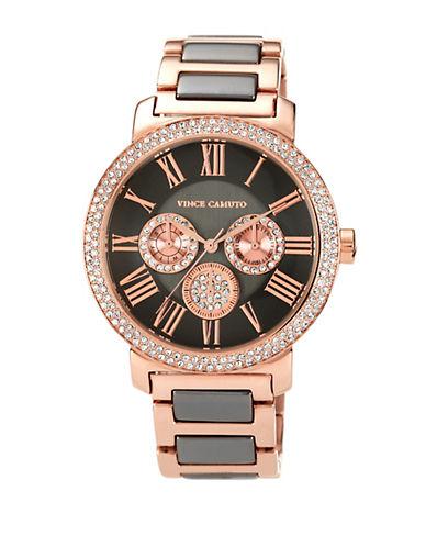VINCE CAMUTOLadies Two-Tone Swarovski Crystal Chronograph Watch