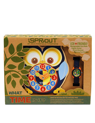 SPROUTLadies Natural Dial Blue Watch