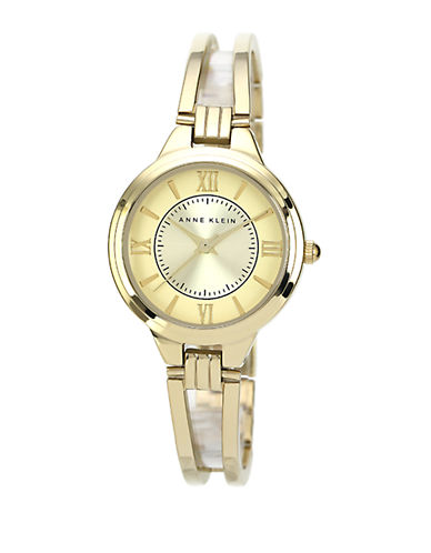 ANNE KLEINLadies Gold Tone Bangle Bracelet Watch