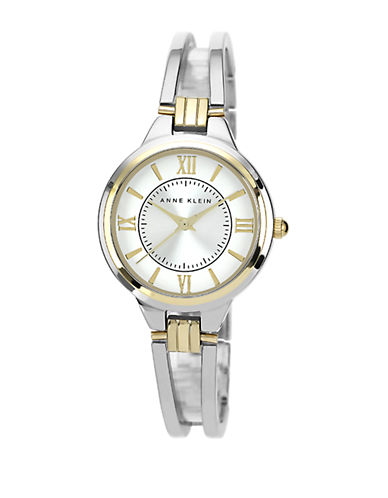 ANNE KLEINLadies Two Tone Bangle Bracelet Watch