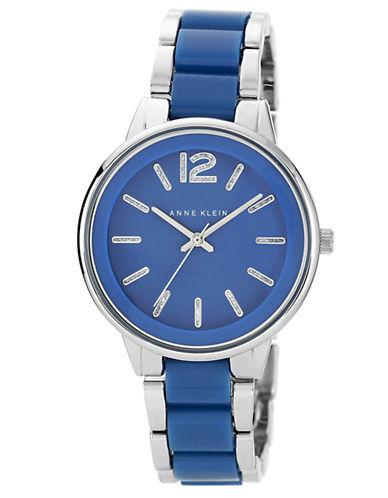 ANNE KLEINLadies Silver Tone and Blue Bracelet Watch