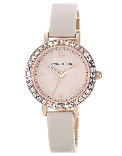 ANNE KLEINLadies Rose Gold Tone and Swarovski Crystal Watch