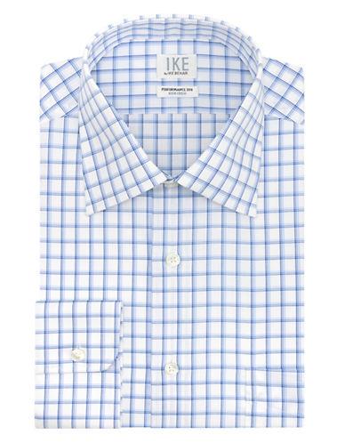 IKE BY IKE BEHARRegular Fit Graphic Check Dress Shirt