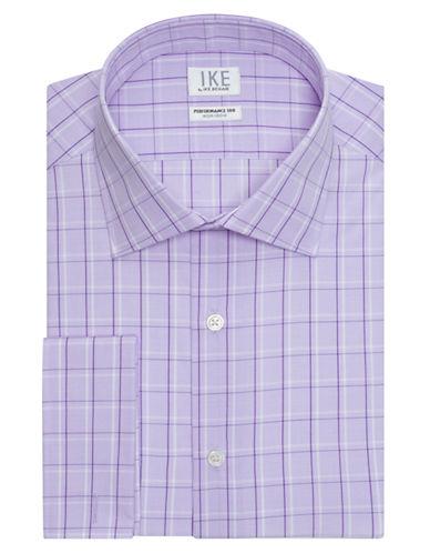 IKE BY IKE BEHARClassic Fit Fancy Plaid Dress Shirt