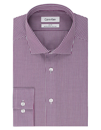 Calvin Klein Slim Fit Performance Dress Shirt