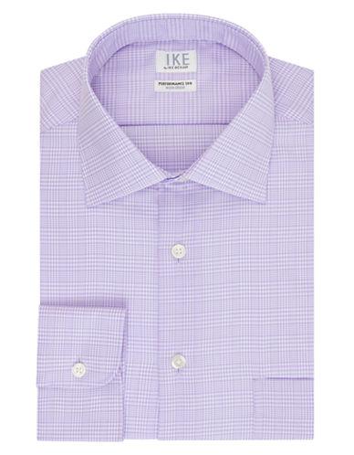 IKE BY IKE BEHARClassic Fit Plaid Dress Shirt