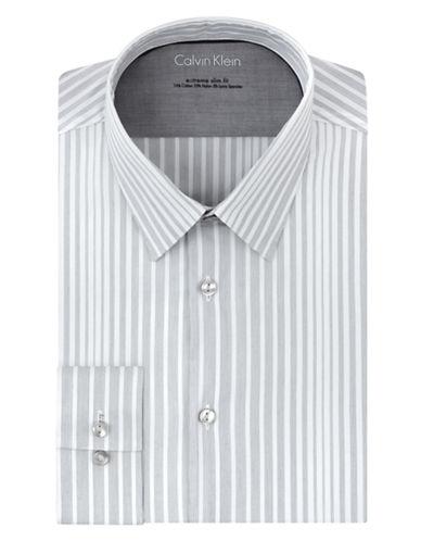 CALVIN KLEINExtreme Slim Fit Gradient Stripe Dress Shirt