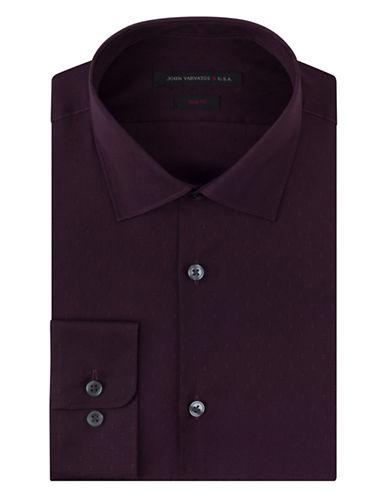 JOHN VARVATOS U.S.A.Slim Fit Vintage Dobby Dress Shirt