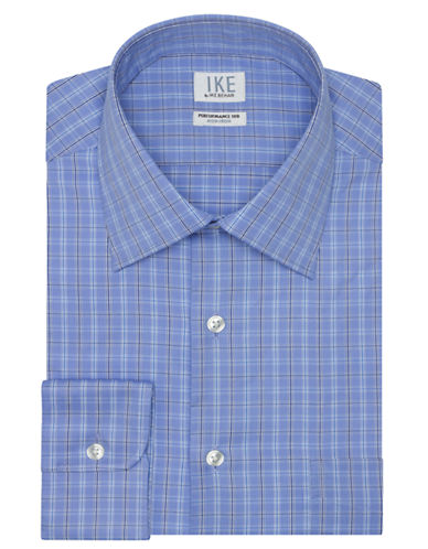 IKE BY IKE BEHARSlim Fit Graphic Check Dress Shirt