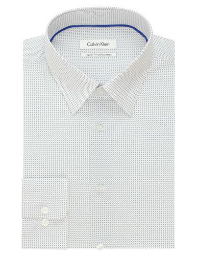 CALVIN KLEINRegular Fit Cotton Dress Shirt