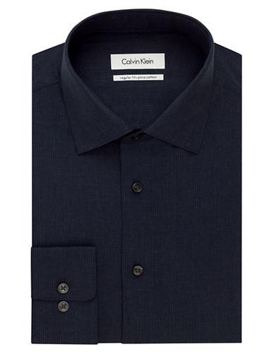 CALVIN KLEINRegular Fit Pinstripe Dress Shirt