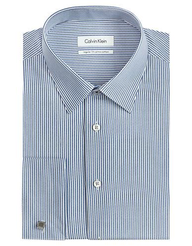 CALVIN KLEINRegular Fit Stripe Dress Shirt