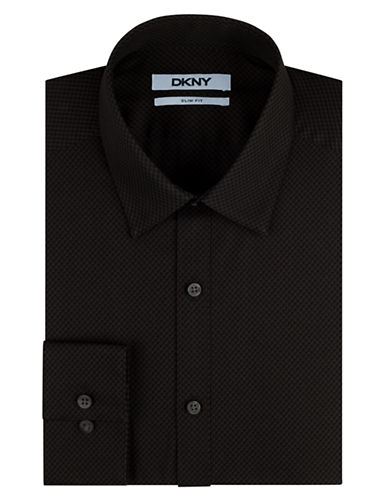 DKNYTonal Check Dress Shirt