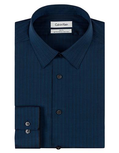 CALVIN KLEINSlim Fit Pencil Stripe Dress Shirt
