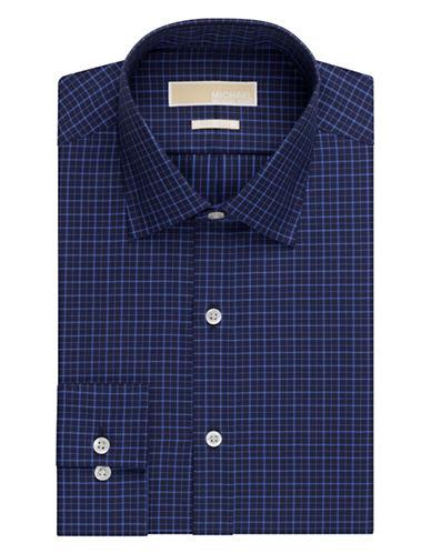 MICHAEL MICHAEL KORSRegular Fit Twill Plaid Dress Shirt