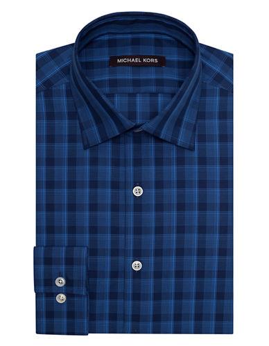 MICHAEL KORSClassic Fit Fancy Plaid Dress Shirt