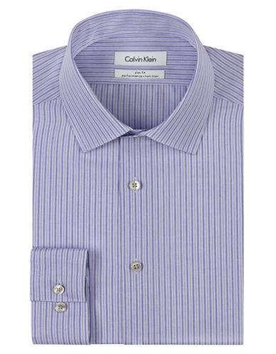 CALVIN KLEINSlim Fit Stripe Non Iron Dress Shirt
