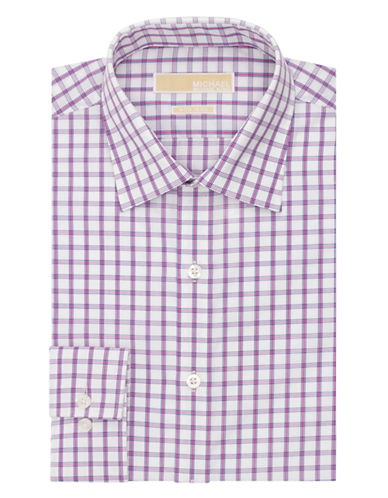 MICHAEL MICHAEL KORSRegular Fit Graphic Check Dress Shirt