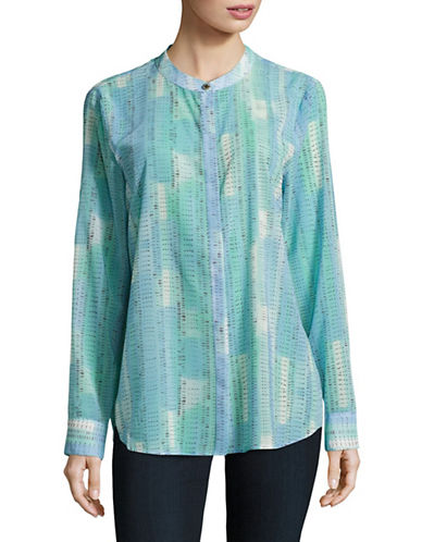 h halston female hilo tunic blouse