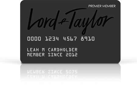 Lord Taylor Credit Card