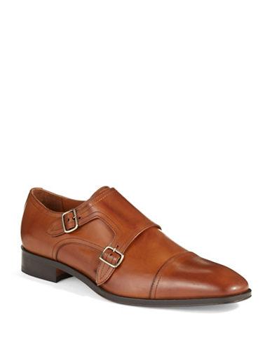 BLACK BROWN 1826Double Monk Shoes