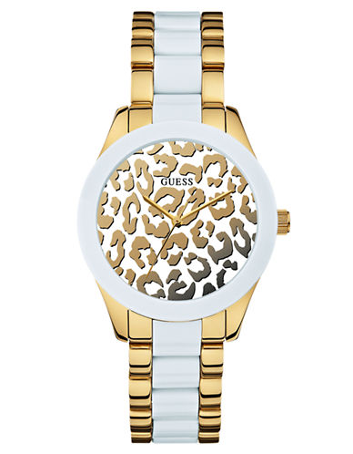 GUESS Ladies Sexy Chic Animal Sport Watch