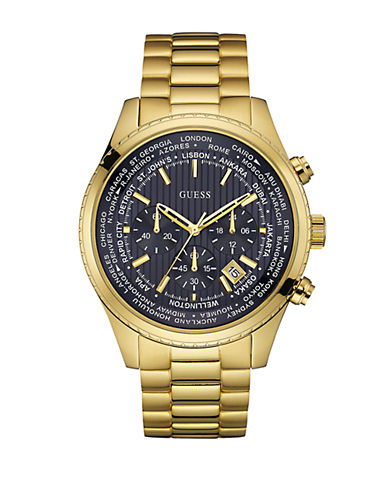 GUESSPursuit Goldtone Stainless Steel Chronograph Watch