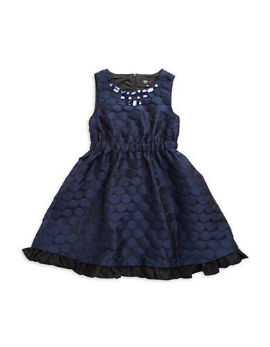 A.B.S. BY ALLEN SCHWARTZGirls 7-16 Jewel Accented Dotted Dress