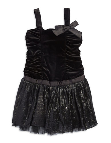 A.B.S. BY ALLEN SCHWARTZGirls 7-16 Velvet and Sequin Party Dress