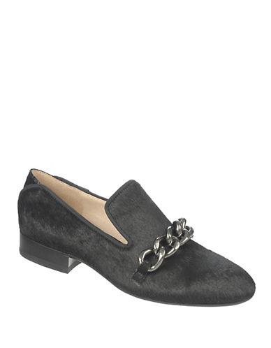 SAM EDELMANKollins Hair Calf Chain Loafers