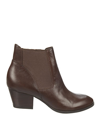FRANCO SARTOGypsum Leather Ankle Boots