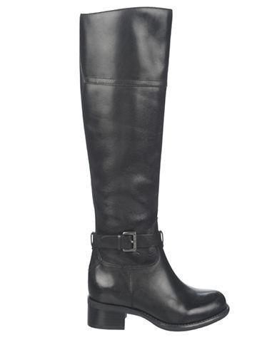 FRANCO SARTOCorda Wide Calf Leather Riding Boots