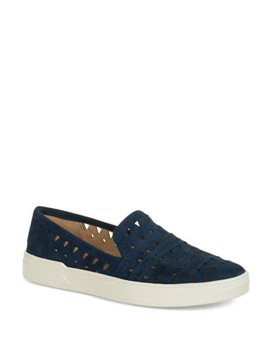 Via Spiga Gingi Suede Slip-On Sneakers