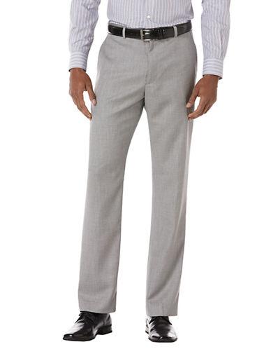 PERRY ELLISClassic Fit Herringbone Textured Suit Pants